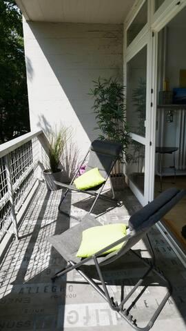 App. in einer Architekturikone  mit gr. Balkon