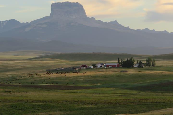 Glacier View| Sleeps 10 |Peaceful Ranch Retreat