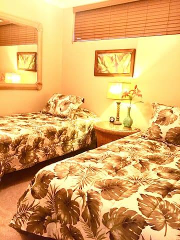 Second  bedroom has 2 Twin beds.