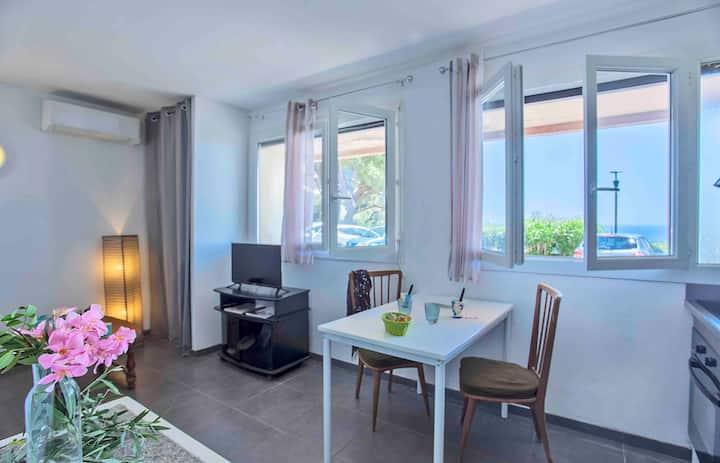 Charmant studio haut de Bastia annulation possible