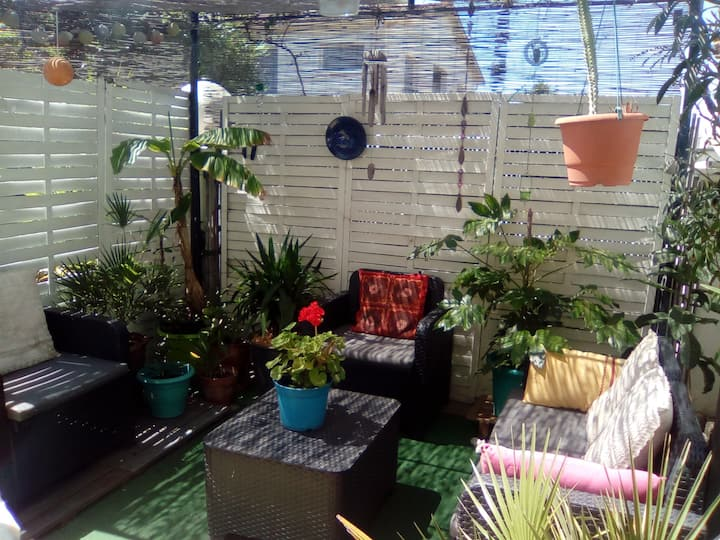 Pura vida logement calme au soleil