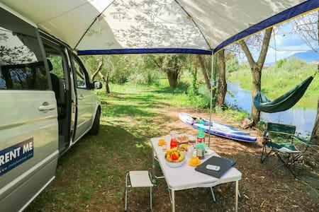 Camper van Westfalia Mercedes auto Viano MarcoPolo - Sperlonga - Wóz Kempingowy/RV