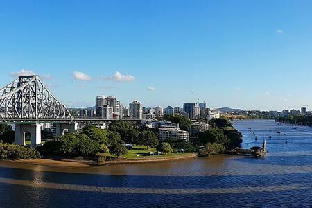 2 brm river view apartment - pool, gym, spa, sauna - Brisbane City - Pis