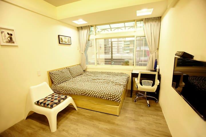 Yongchun cozy room -B 永春舒適套房MRT3min