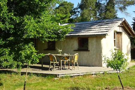 small ecologic straw ball house - Ploërmel - Earth House
