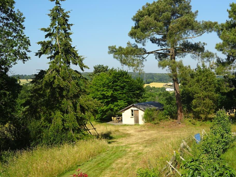 La maisonnette dans la campagne