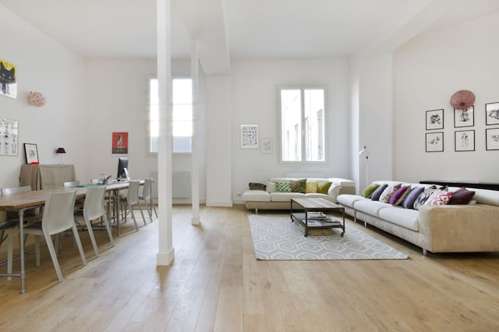 Loft 240m2 Paris 9 Folies-Bergère - Paris - Loft