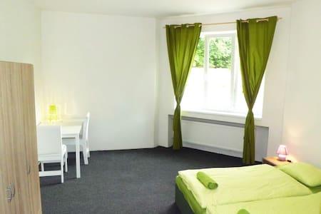 Quiet green room - Tom's backpacker - Praha - Yatakhane
