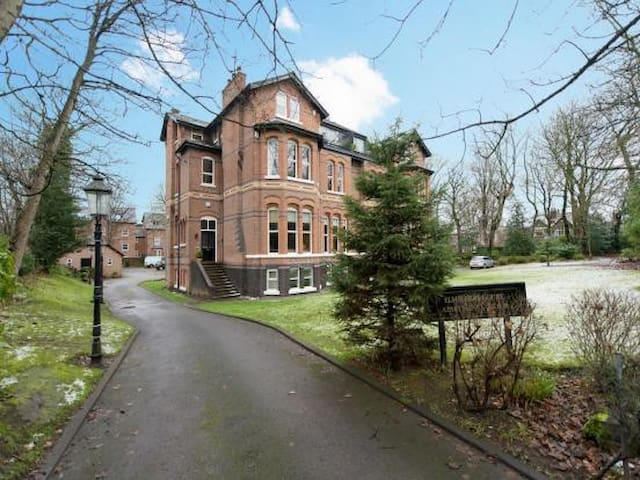 Room in Large Victorian Apartment - Eccles - Apartamento