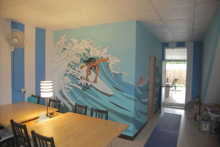 Surfer House in Douli - 6 family room - Chenggong Township - Huis