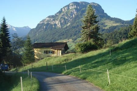 comfortable cottage in the alps - Vorderthal - Blockhütte