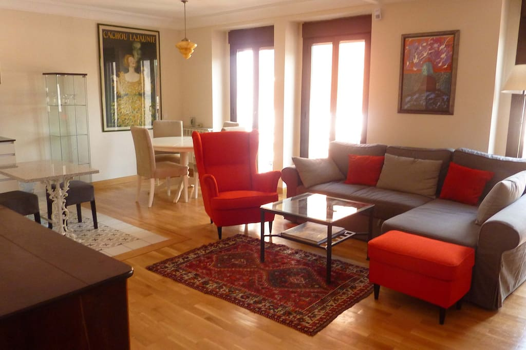 Living room, with Air conditioned, WIFI,