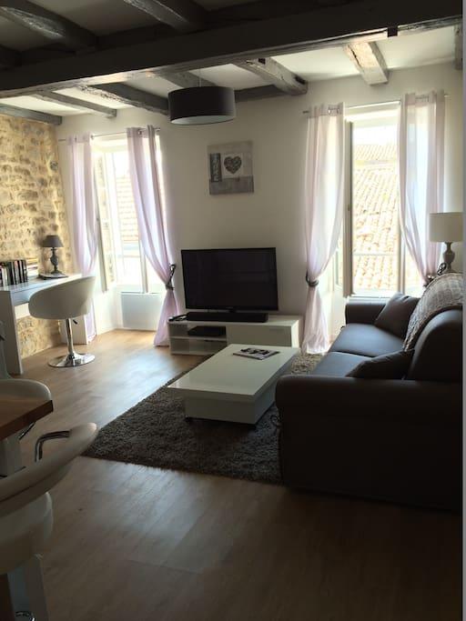 Appartement cosy au c ur de ville de la rochelle for Appartement design la rochelle