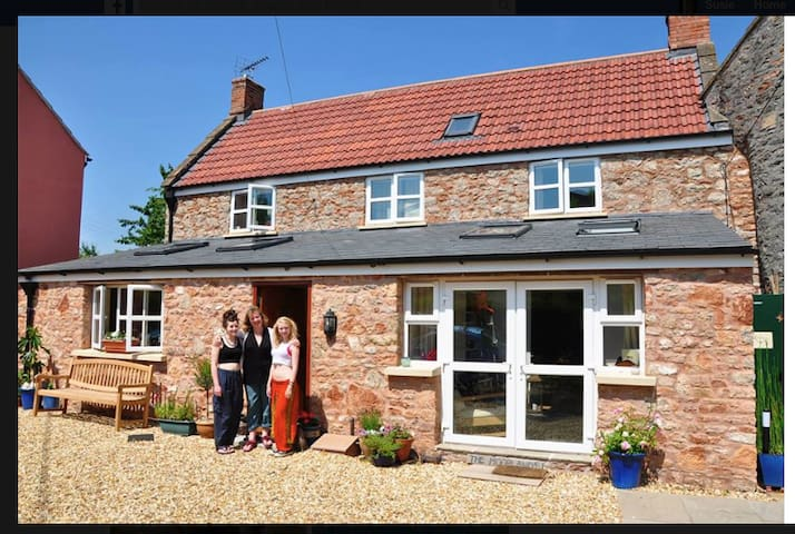Lovely rural retreat near Wells in Somerset - Wells - Huis