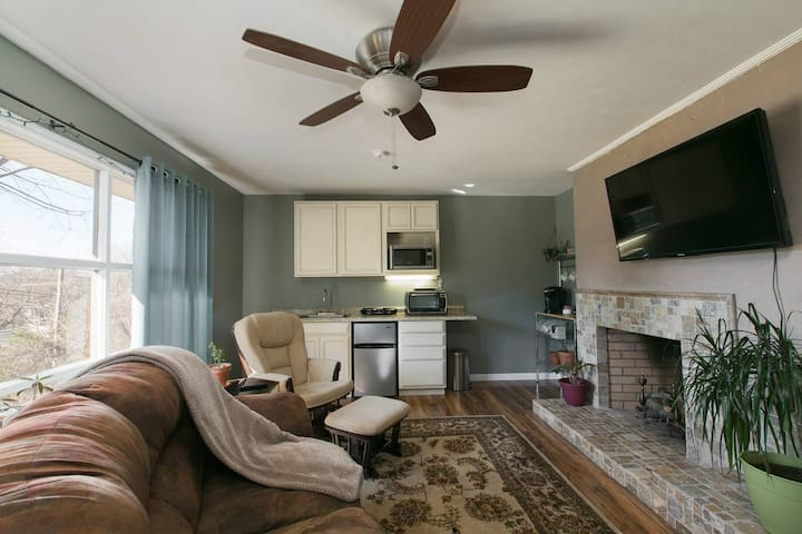 Cozy Convenience: King Bed, 3 miles to Biltmore