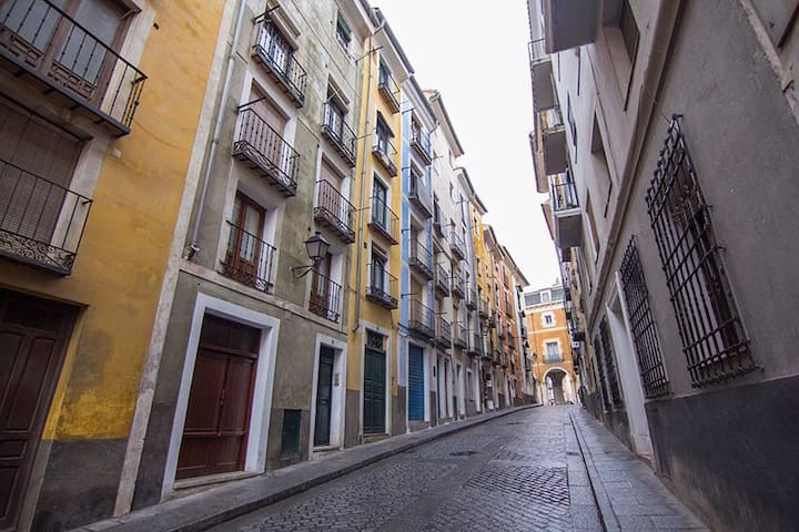Apartamento junto a Plaza Mayor - Cuenca - Appartement