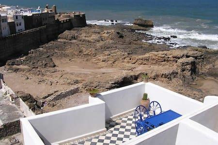 Dar Al Bahar Twin Room Street View - Essaouira - Bed & Breakfast