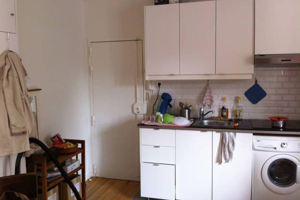 la cuisine/salon