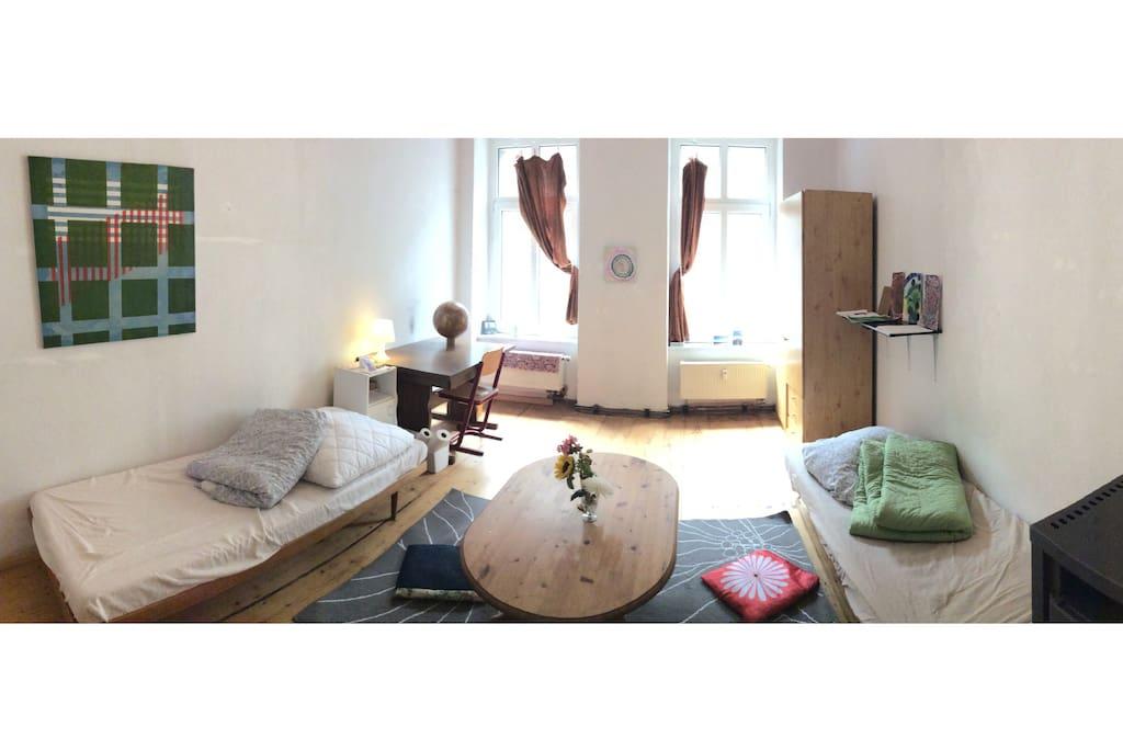 das japanische zimmer wohnungen zur miete in leipzig sachsen deutschland. Black Bedroom Furniture Sets. Home Design Ideas