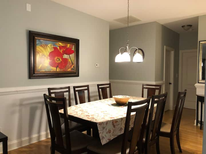 Delightful private two bedroom walkout basement.