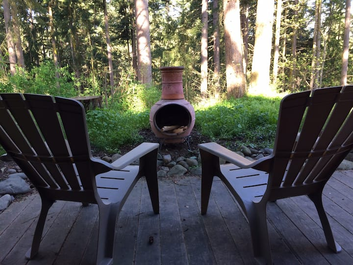 Riverwalk Cabin: Walk Along the Dungeness River