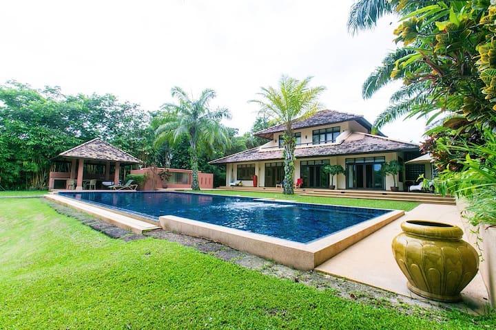 3+1 luxury villa w/salt water pool - Chiang Mai - Villa