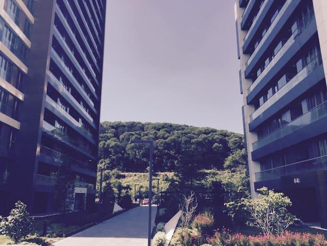 Vadi'de orman manzaralı residence - İstanbul - Apartment