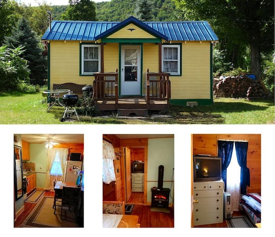 Catskill Bungalow Tiny House Rental Windham Hunter
