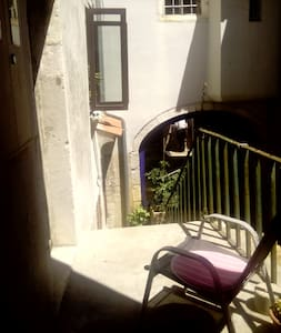 Lovely Room in Rustic Style House with Privat Bath - Cres , Island Cres  - Ev