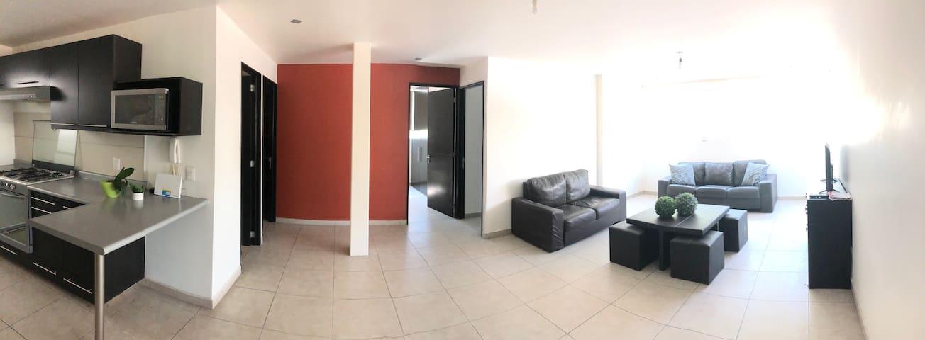 Hermoso departamento para visitar Querétaro