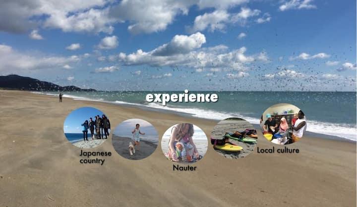 Experience!! Ocean cliff Omotehama!
