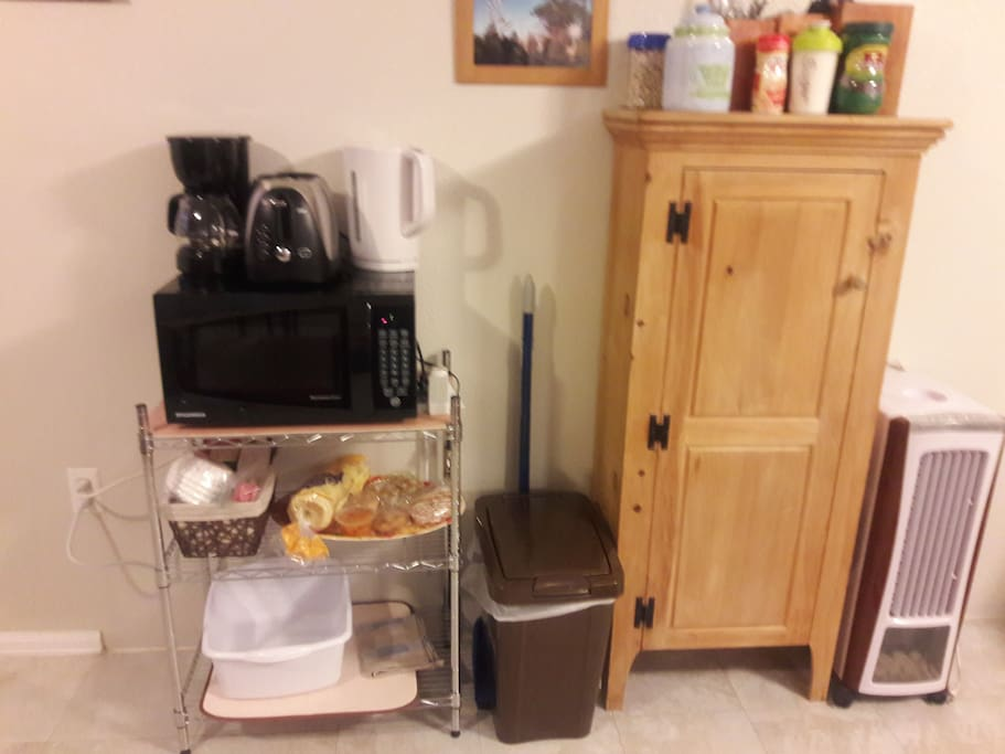 Coffee and small appliance center