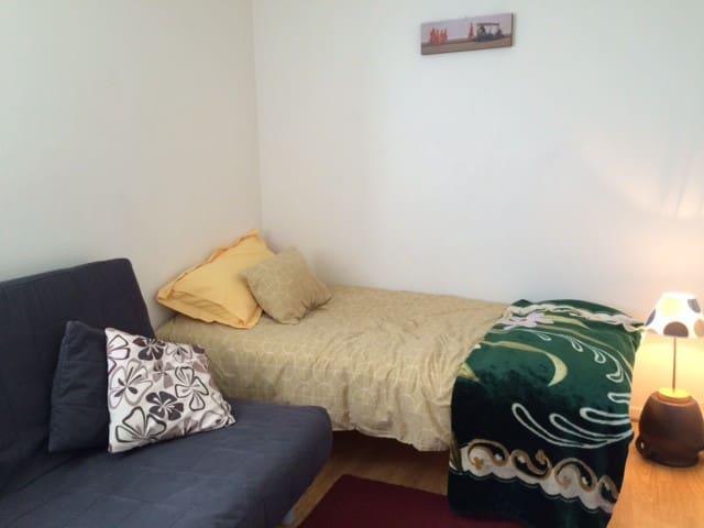 Clean and cozy room + bike - Lund - Apartmen