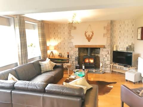 Acolhedora casa de campo em belos Brecon Beacons