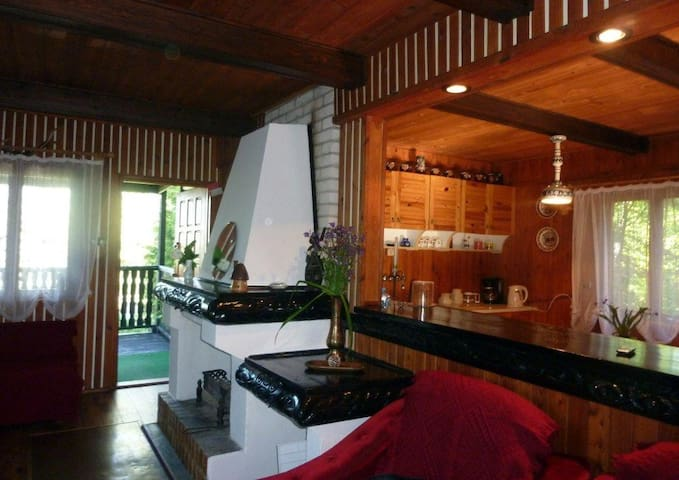 Spacious&comfortable holiday house - Olsztyn - Casa
