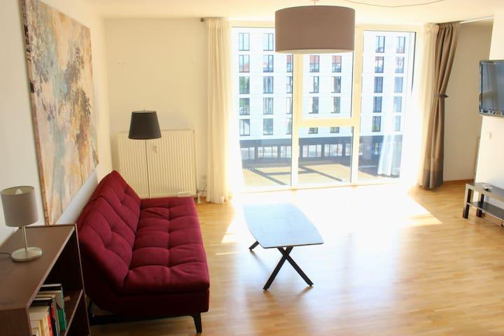 +City-Apartment mit Loft-Charakter & Panoramablick