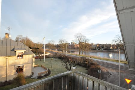 Cozy Apt. with beautiful view, near downtown - 卡爾斯塔德(Karlstad) - 公寓