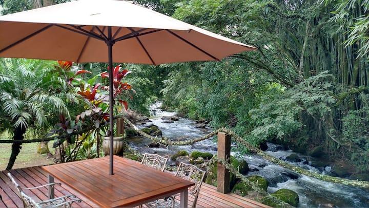 Picumã, Eco-refúgio com piscina, riacho e wi-fi 4G