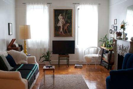 Extra Large 1BR in a pre-war building, 2 blocks to F/G trains at Fort Hamilton Parkway and 15 minute walk to Q train at Church Ave. Steps away from grocery. Short walk to Tennis Courts, Soccer Fields, and Prospect Park. Laundry in Building.