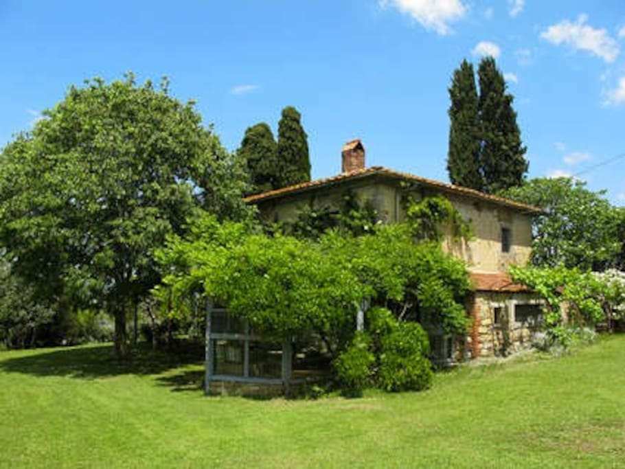 Country house in Tuscany with pool