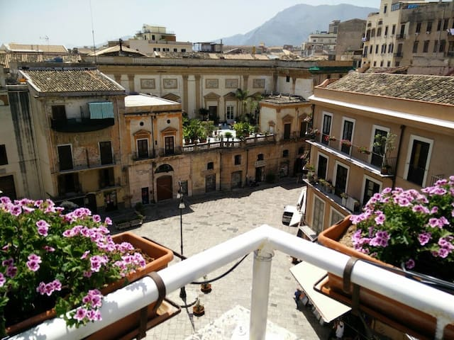 Loft with view in the heart of Palermo's nightlife