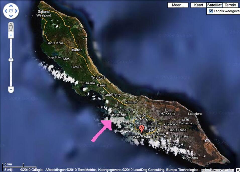 location Boca St. Michiel