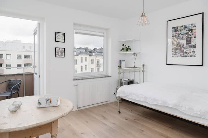 Bright 1BR Apartment for 3 P in the City Center