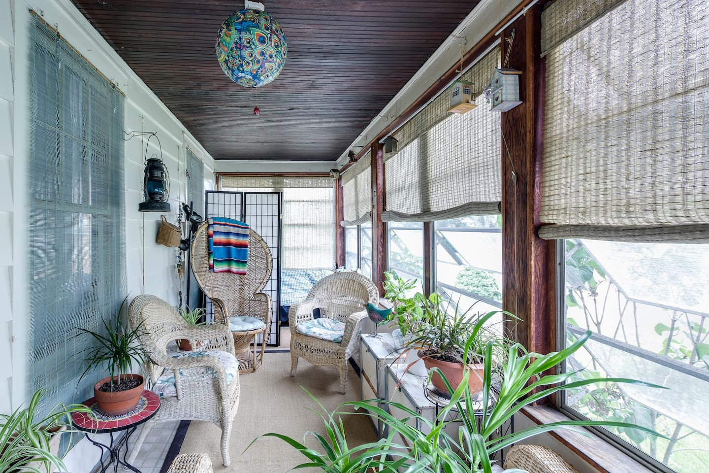Spacious east facing sunporch for relaxing or having morning breakfast