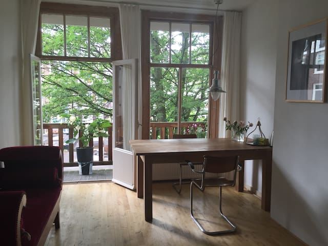 Beautiful room with balcony - Amsterdam - Lejlighed