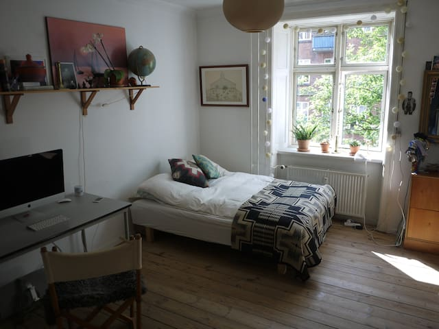 Apartment on Nørrebro with Balcony - København - Apartment