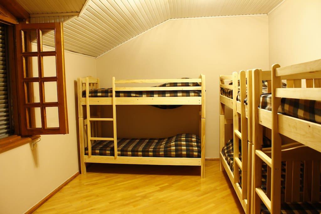 Dorm II floor