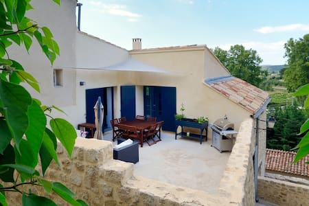 Your private terrace in Luberon in 2017 - Cucuron - Dom