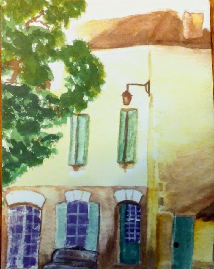 Les chambres du bourg-Saint Avit Sénieur- Dordogne