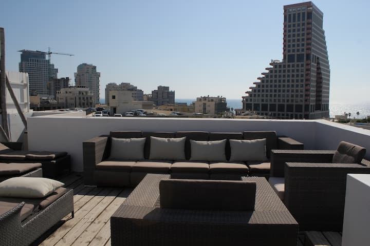 Sea View Terrace - Cosy and homy duplex - central